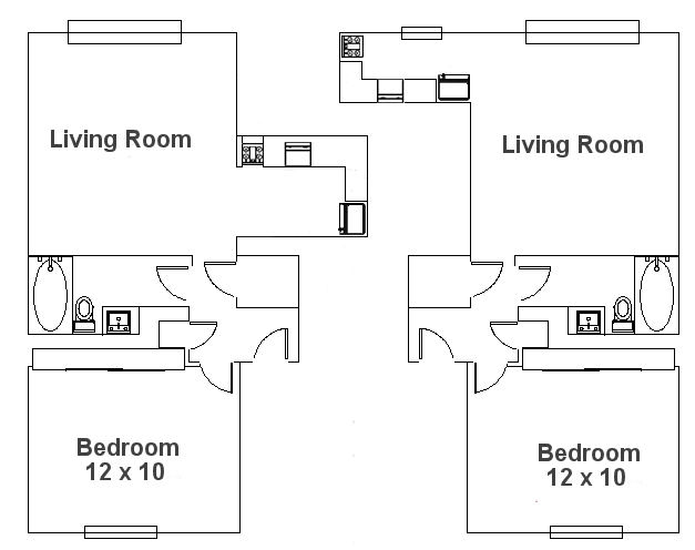 One Bedroom Colonial 500